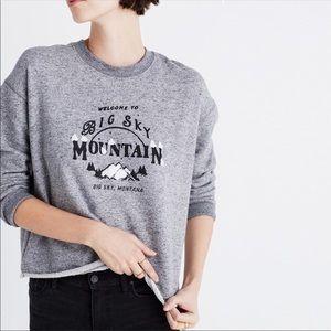 Madewell big sky mountain sweatshirt